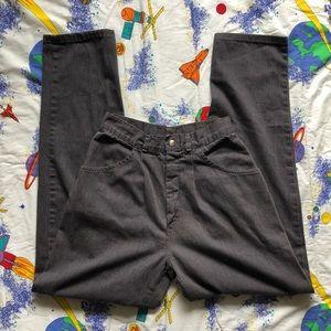 VTG 80s Pinstripe Straight Leg Mom Jeans
